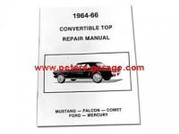Repair Manuel  Conv.Top 64-66